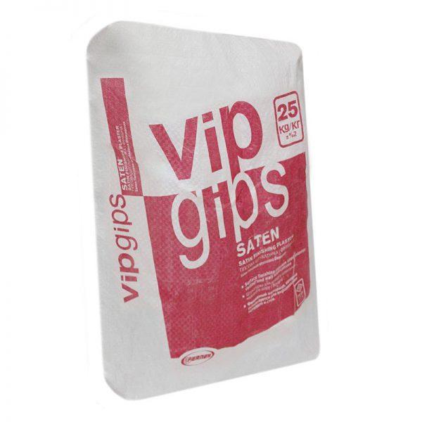Гипсовая шпаклевка  VipGips Saten (финиш) 25кг на белой основе