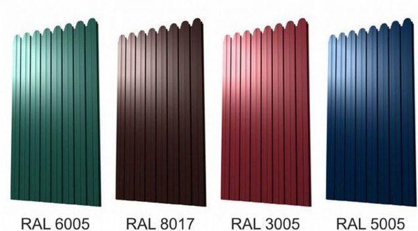 Профнастил глянцевый 0.95х1.7 м RAL8017 (Шоколадный)